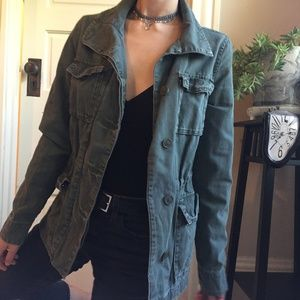 Urban Outfitters Ecoté Army Green Utility Jacket